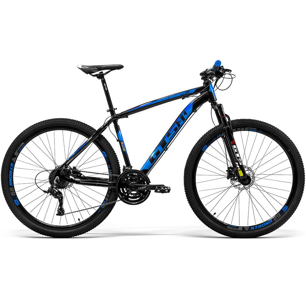 Bicicleta GTS Aro 29 Freio a Disco Hidráulico Câmbio Tsi9 27 Marchas e Suspensão   GTS M1 Ride New