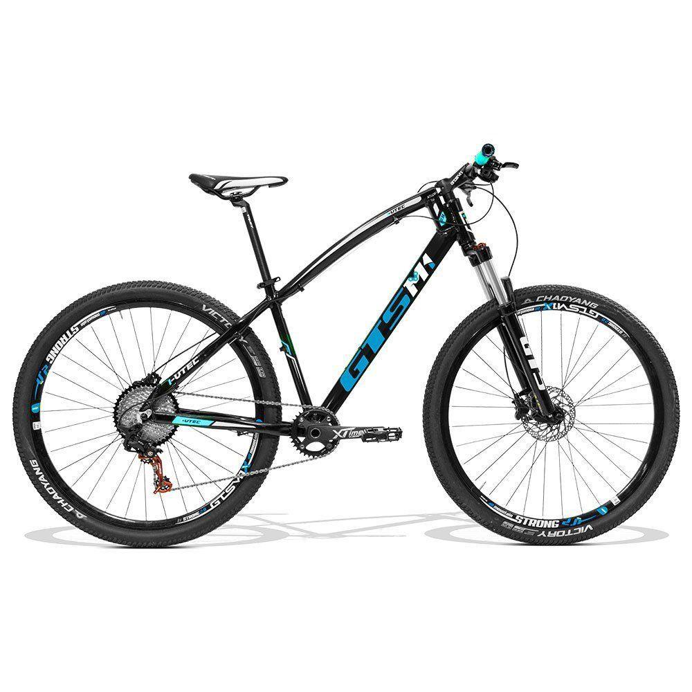 Bicicleta GTS Aro 29 Freio a Disco Hidráulico Câmbio SRX 1X11 Suspensão com Trava| GTS M1 I-VTEC 1X11