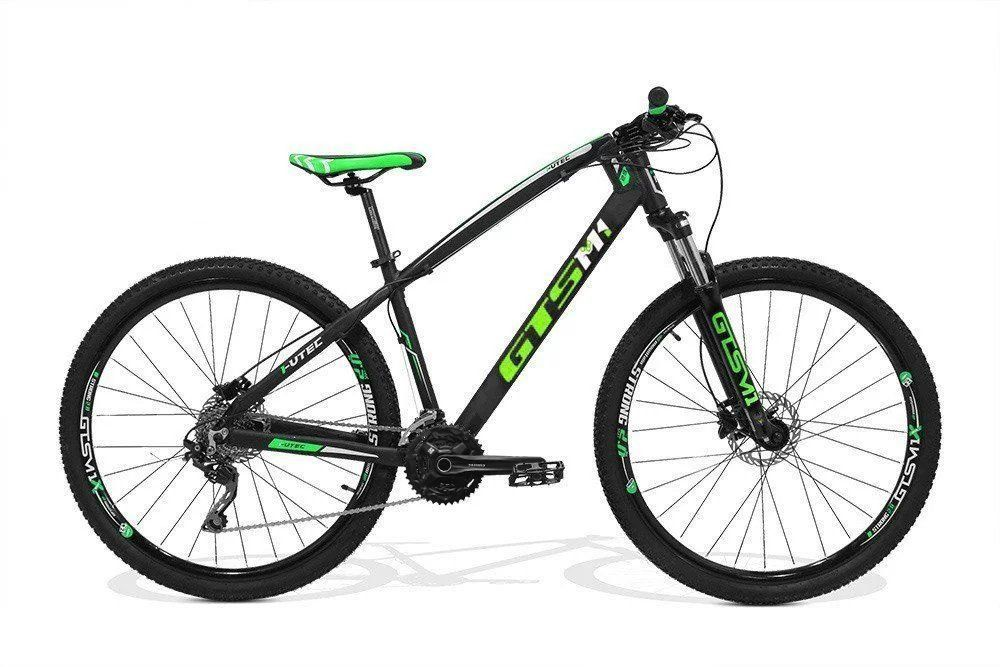 Bicicleta GTS Aro 29 Freio a Disco Shimano Hidráulico Câmbio Shimano Deore 27 Marchas e Amortecedor + Velocímetro de Brinde | GTS M1 I-Vtec