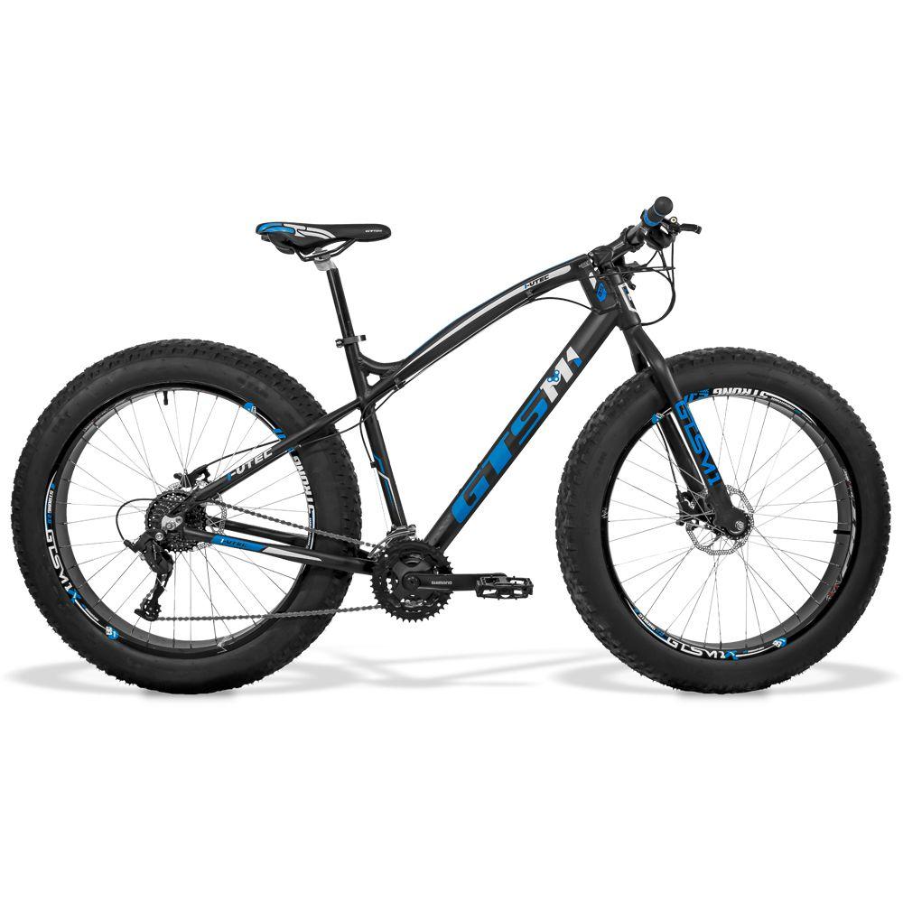 Bicicleta GTS  Fat Aro 26 com Freio a Disco Hidráulico TSI9 27 Marchas, Quadro de Alumínio | GTS M1 I-Vtec FAT