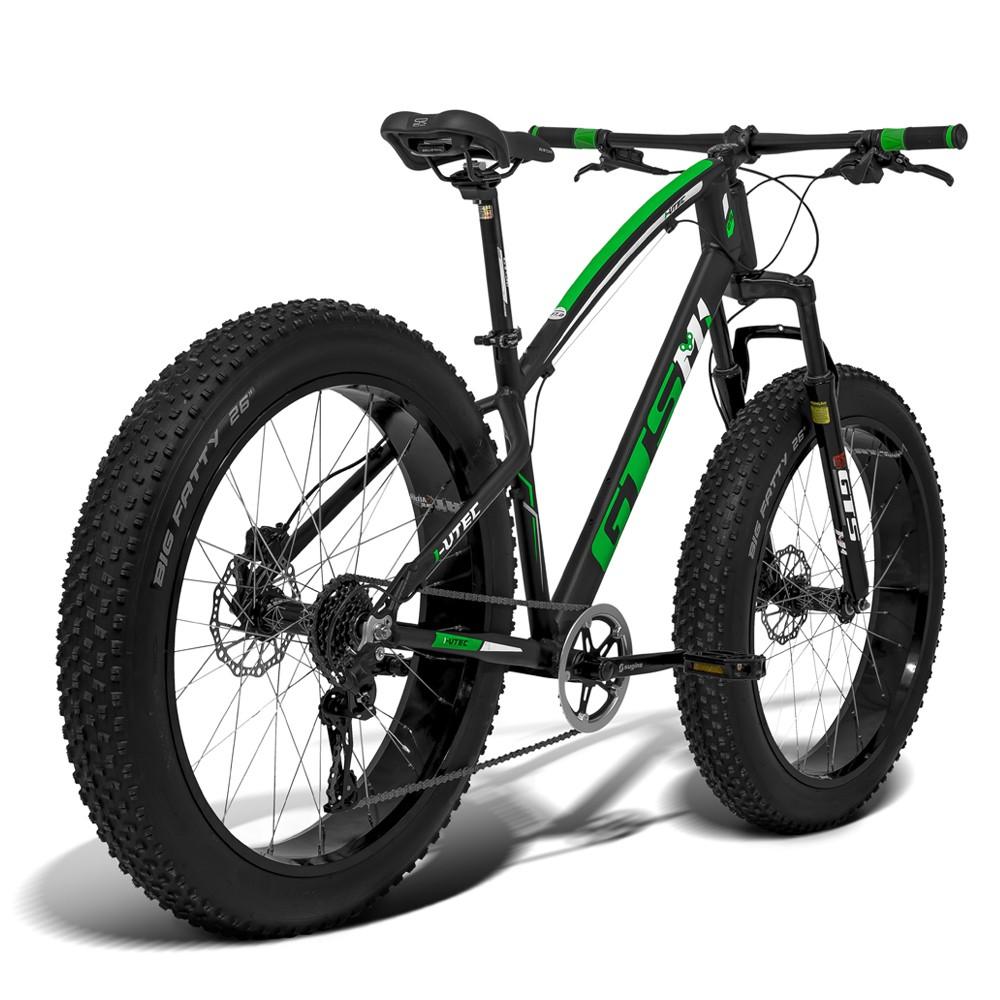 Bicicleta GTS Fat Bike Tsi 7 Aro 26 com Freio a Disco Hidráulico Cambio GTSM1 TSI 7 Marchas e Quadro de Alumínio | GTS M1 I-Vtec FAT