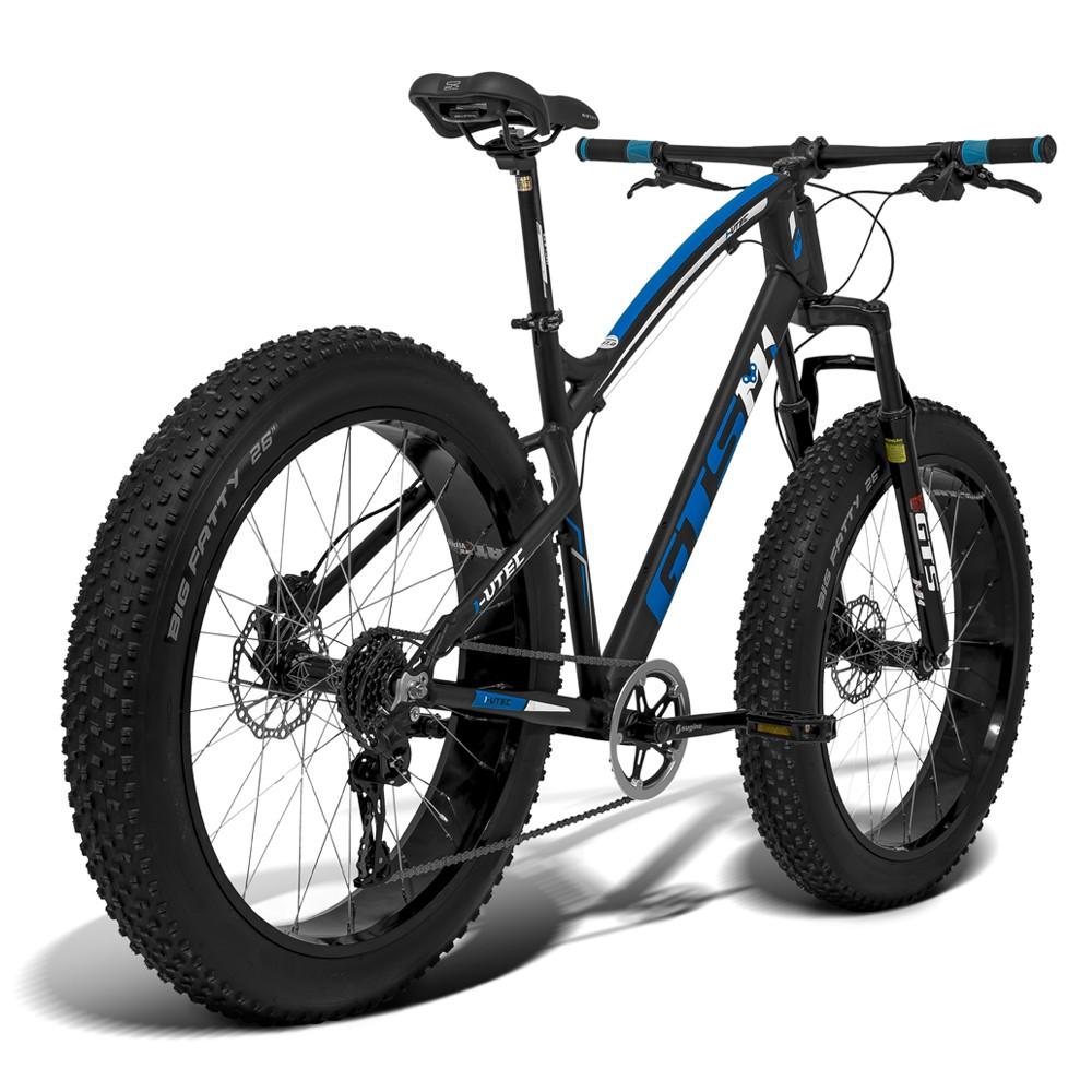 Bicicleta GTS Fat Bike Tsi 7 Aro 26 com Freio a Disco Hidráulico Cambio GTSM1 TSI 7 Marchas e Quadro de Alumínio   GTS M1 I-Vtec FAT