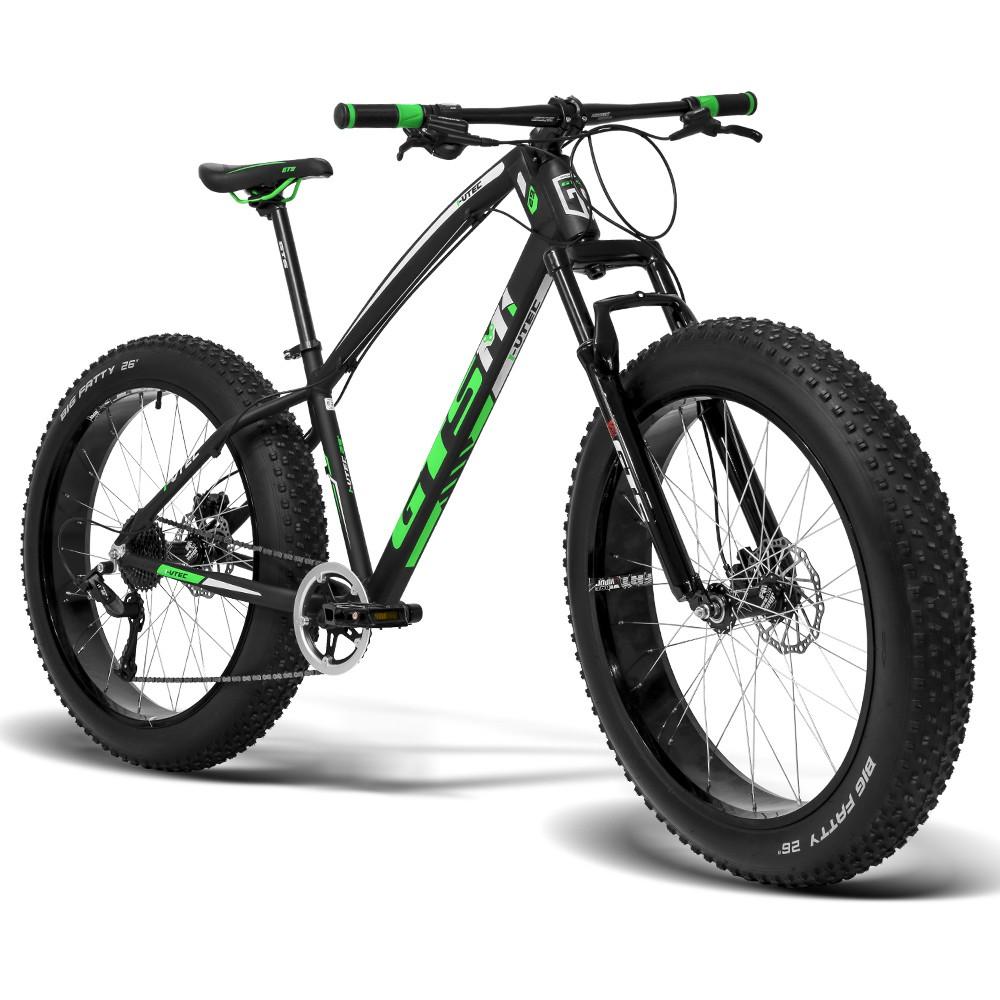Bicicleta GTS Fat Bike Tsi 9 Aro 26 com Freio a Disco Hidráulico Cambio GTSM1 TSI 9 Marchas e Quadro de Alumínio   GTS M1 I-Vtec FAT