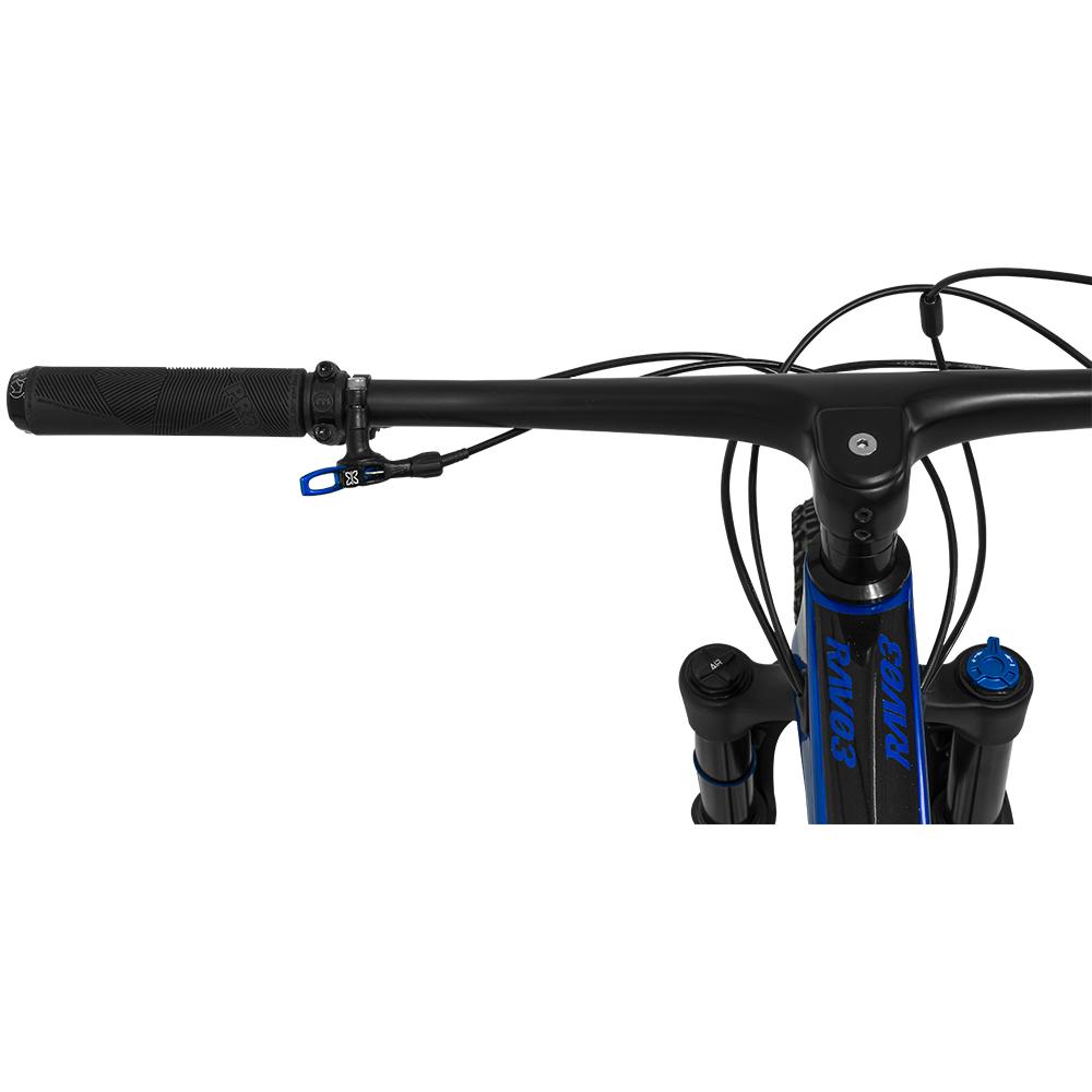 Bicicleta GTS RAV3 aro 29 Freio Hidráulico Quadro Full Suspension Carbono e Canote retrátil | 1x12 shimano Deore