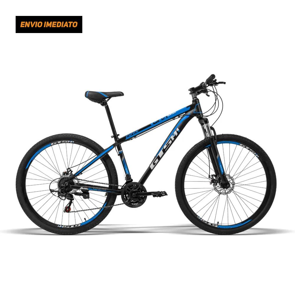 Bicicleta Gtsm1 Aro 29 Freio a Disco 21 Marchas e Suspensão   GTS GRX