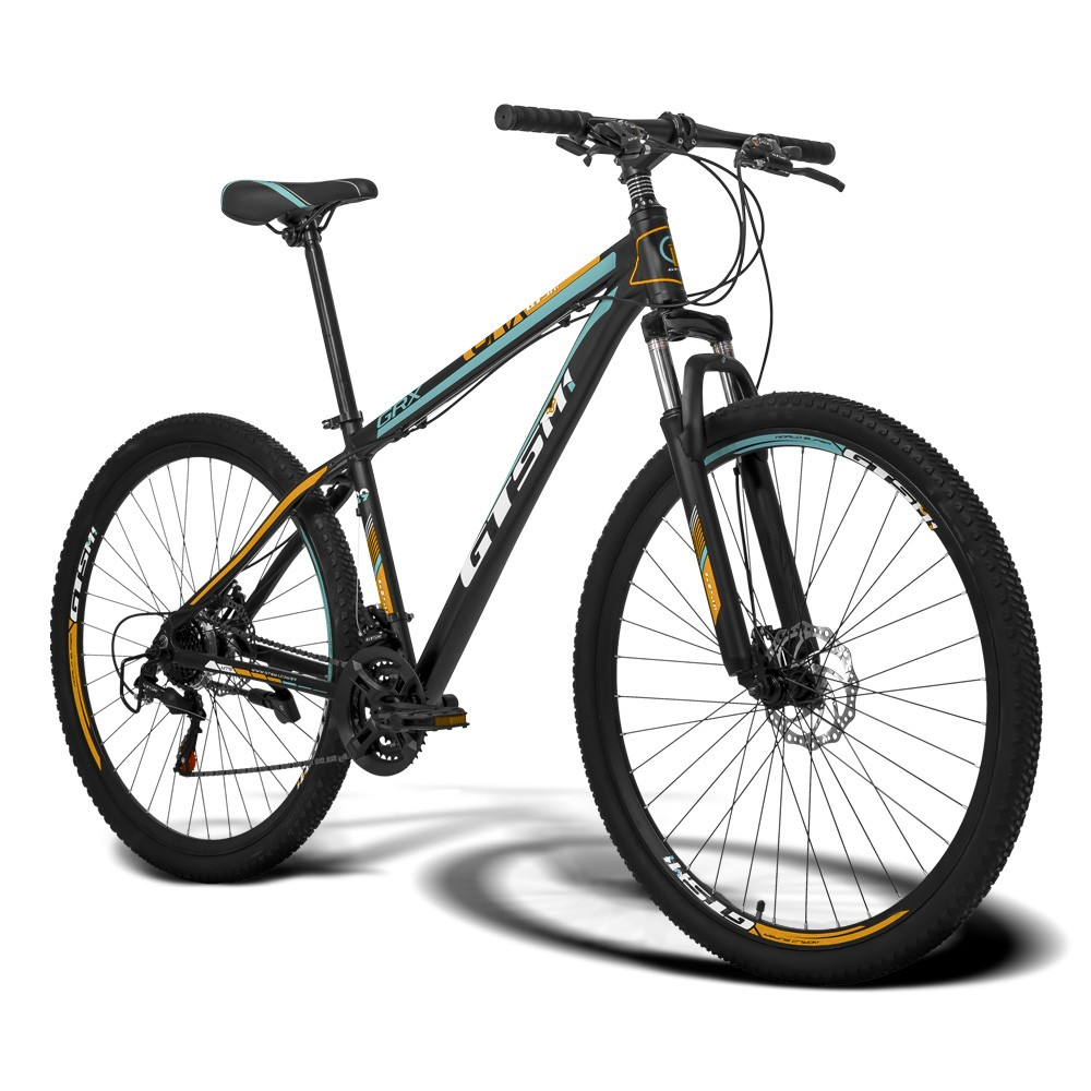 Bicicleta Gtsm1 Aro 29 Freio a Disco 21 Marchas e Suspensão | GTS GRX