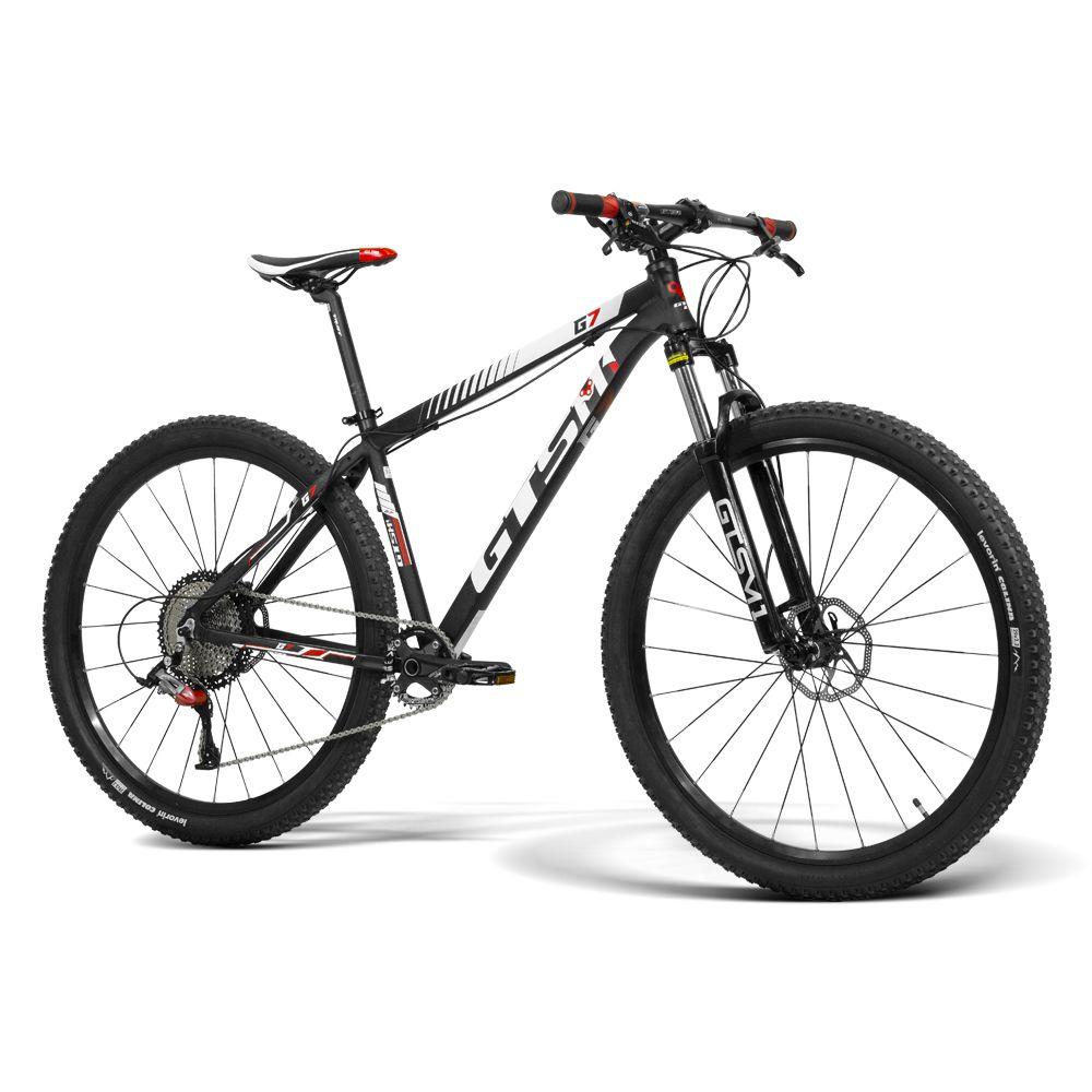 Bicicleta GTSM1 Aro 29  Freio a Disco Hidráulico Câmbio GTS M1 1x12 e Amortecedor com trava hidráulica  | GTS M1 G7 1x12 T