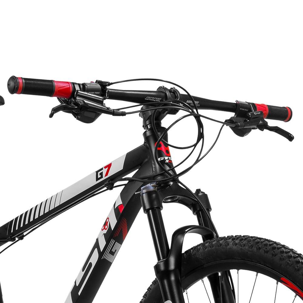 Bicicleta Gtsm1 Aro 29 Freio a Disco Hidráulico Câmbio GTSM1 TSI9 27 Marchas e Suspensão com Trava No guidão | GTS M1 G7