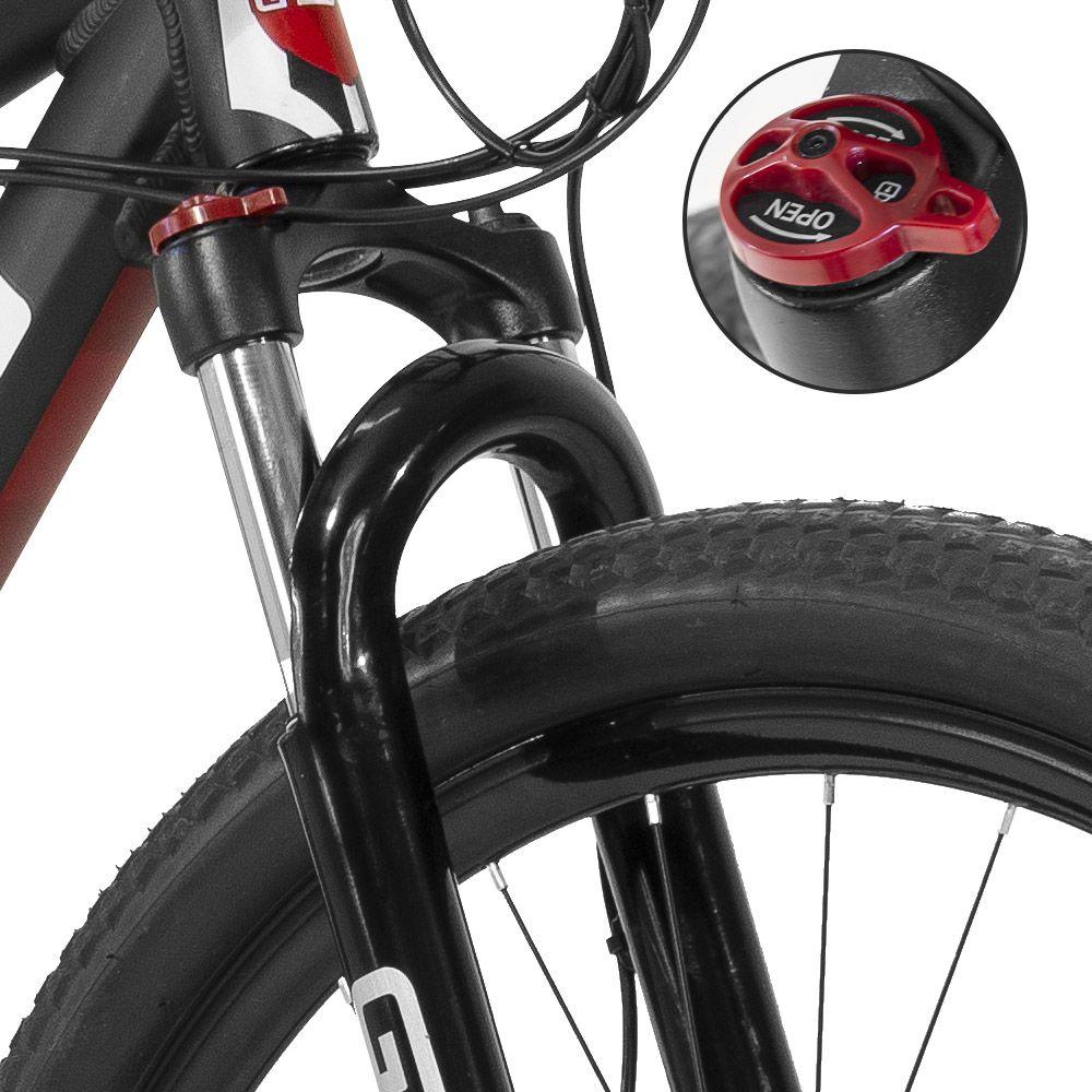 Bicicleta Gtsm1 Aro 29 Freio a Disco Hidráulico Câmbio Shimano Acera 27 Marchas e Suspensão com Trava | GTS M1 Advanced New