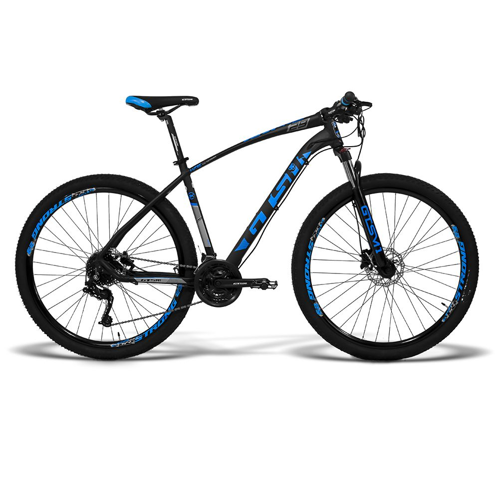 Bicicleta Gtsm1 aro 29 Freio Hidráulico 24 Marchas Suspensão com Trava MX8 | I-vtec SX