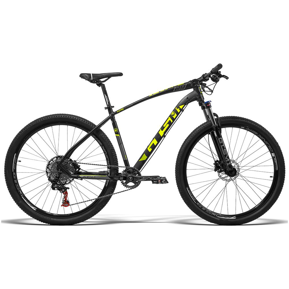 Bicicleta Gtsm1 aro 29 Freio Hidráulico kit 1x11 SRX Suspensão com Trava   I-Vtec New SX 1x11 SRX