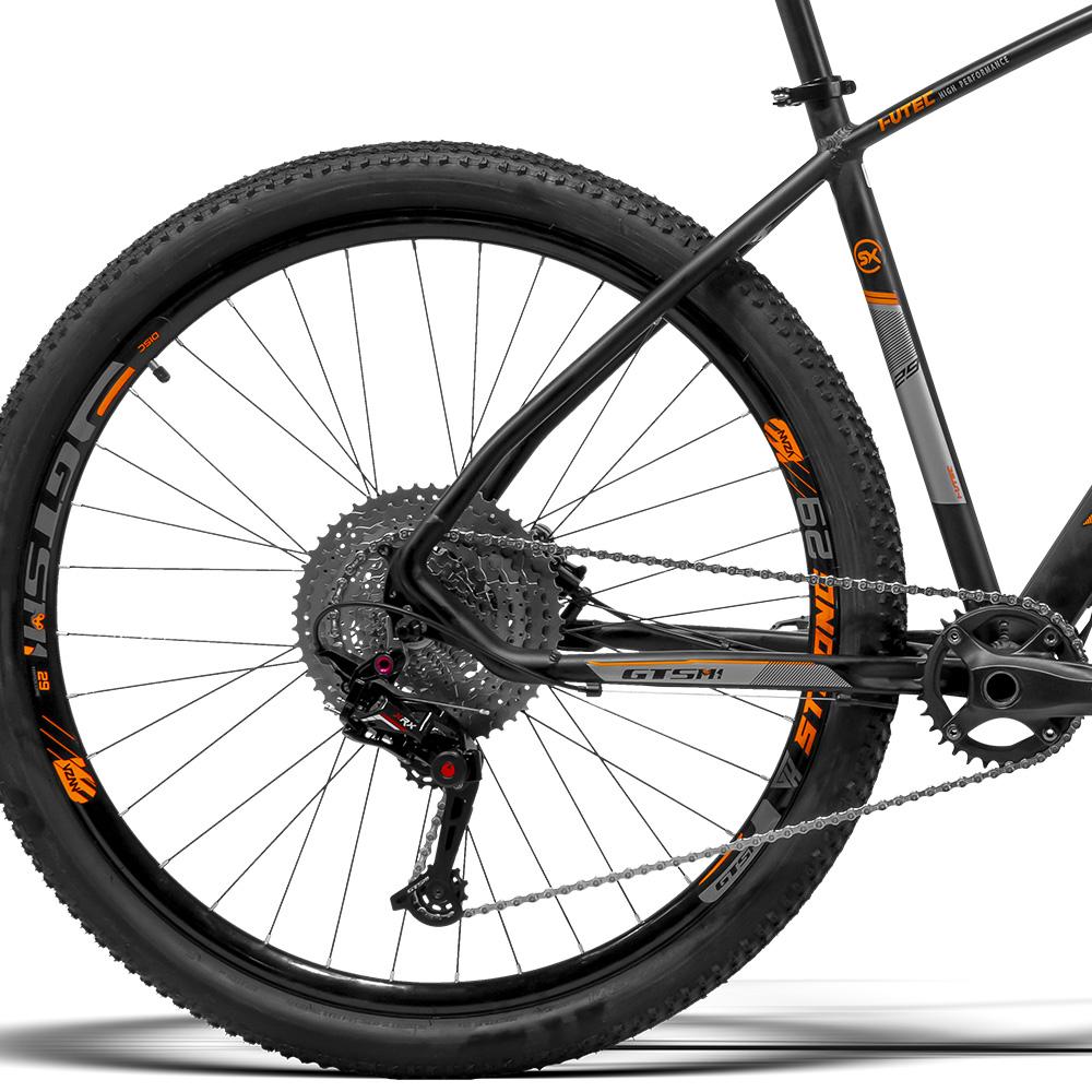 Bicicleta Gtsm1 aro 29 Freio Hidráulico kit 1x12 XRX Suspensão com Trava no guidão   I-Vtec New SX 1x12 XRX