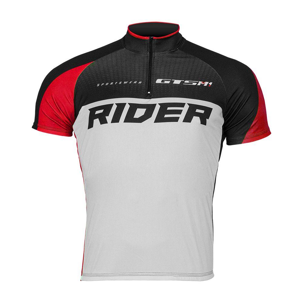 Camiseta Ciclista Gtsm1 Manga Curta com Proteção UVA e UVB Rider