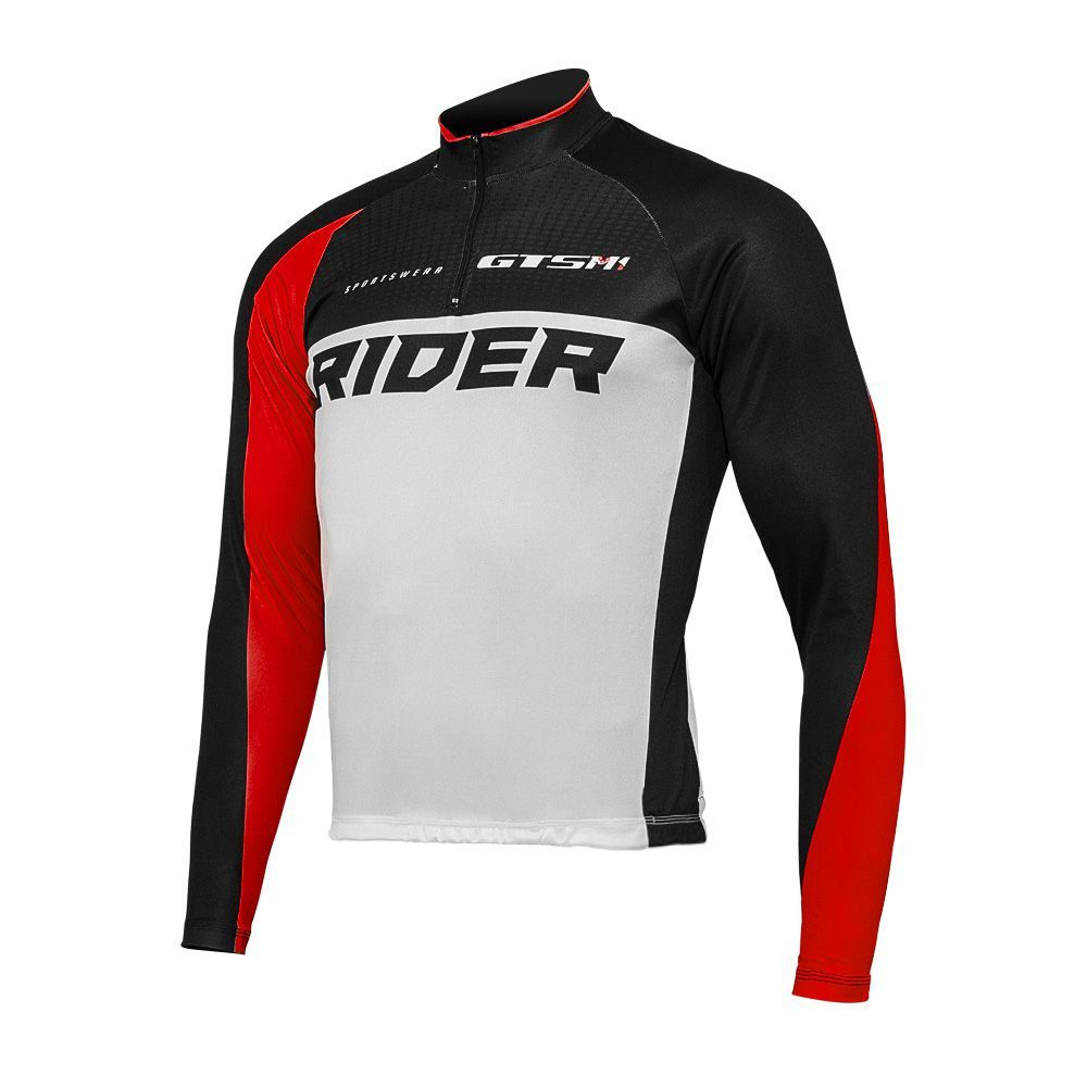 Camiseta Ciclista Gtsm1 Manga Longa com Proteção UVA e UVB Rider