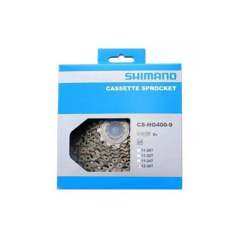Cassete Shimano ALÍVIO 9v HG400 11/34