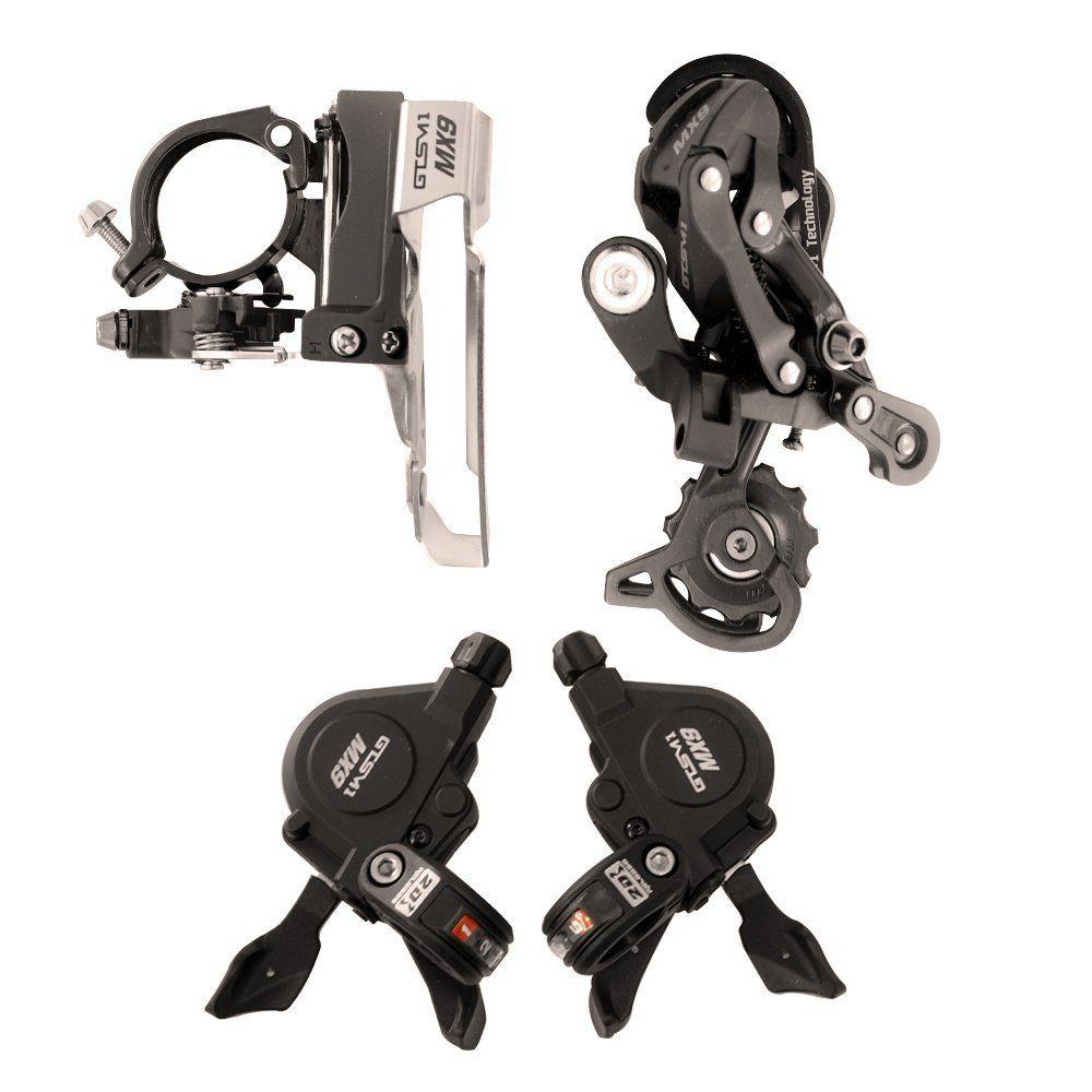 Kit 27 marchas GTSM1 MX9 Cambios e Trocadores 9 velocidades
