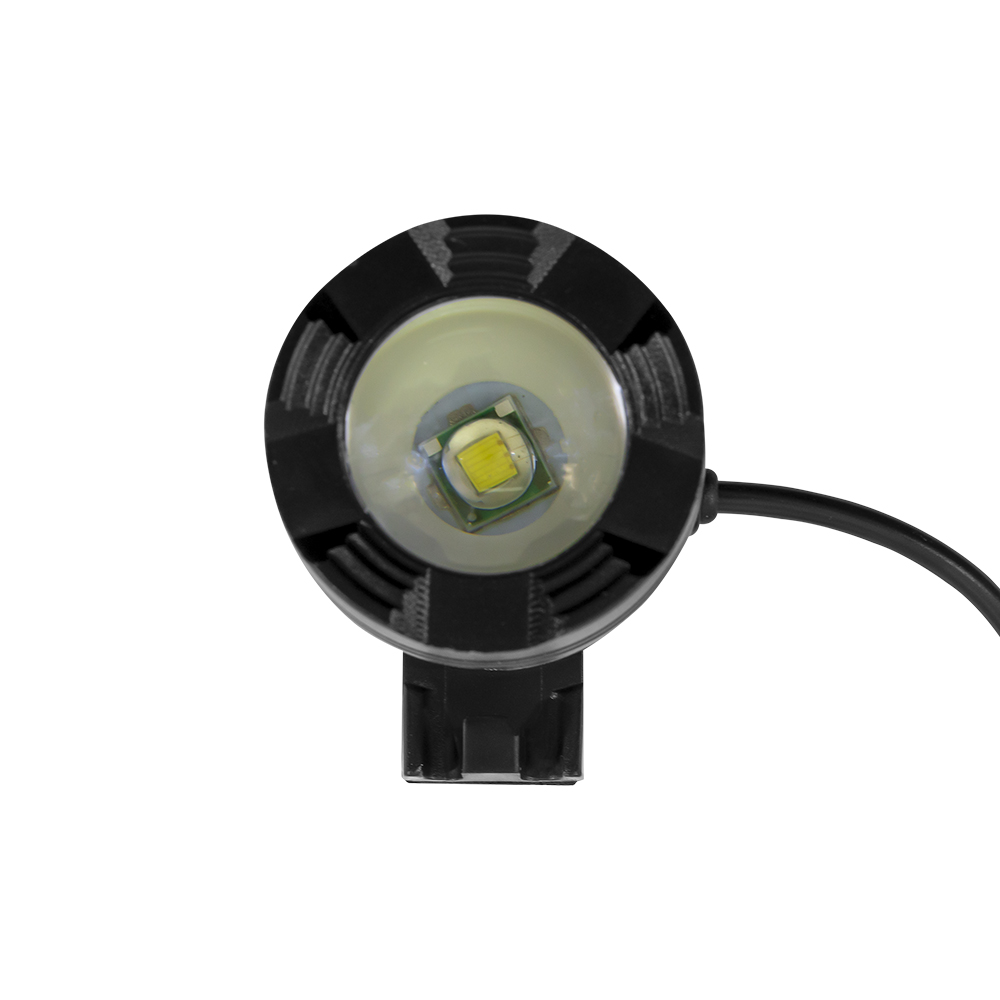 Lanterna Led T6 Cree HeadLamp Super Light com bateria externa.