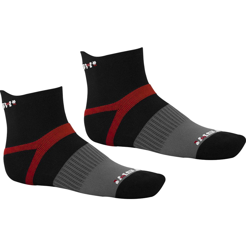 Meia Gtsm1 Cano Curto duplo reforço com proteção no tornozelo