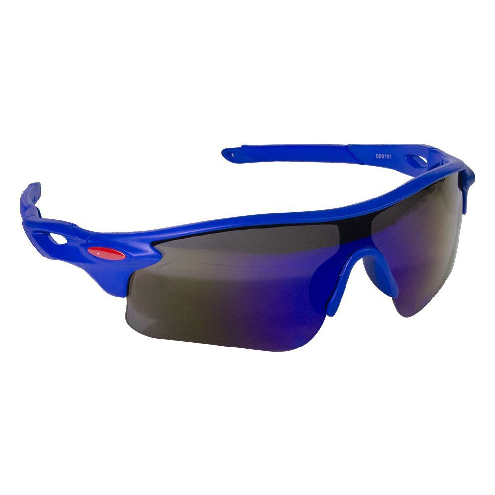 Óculos Azul com Lentes Multicolor
