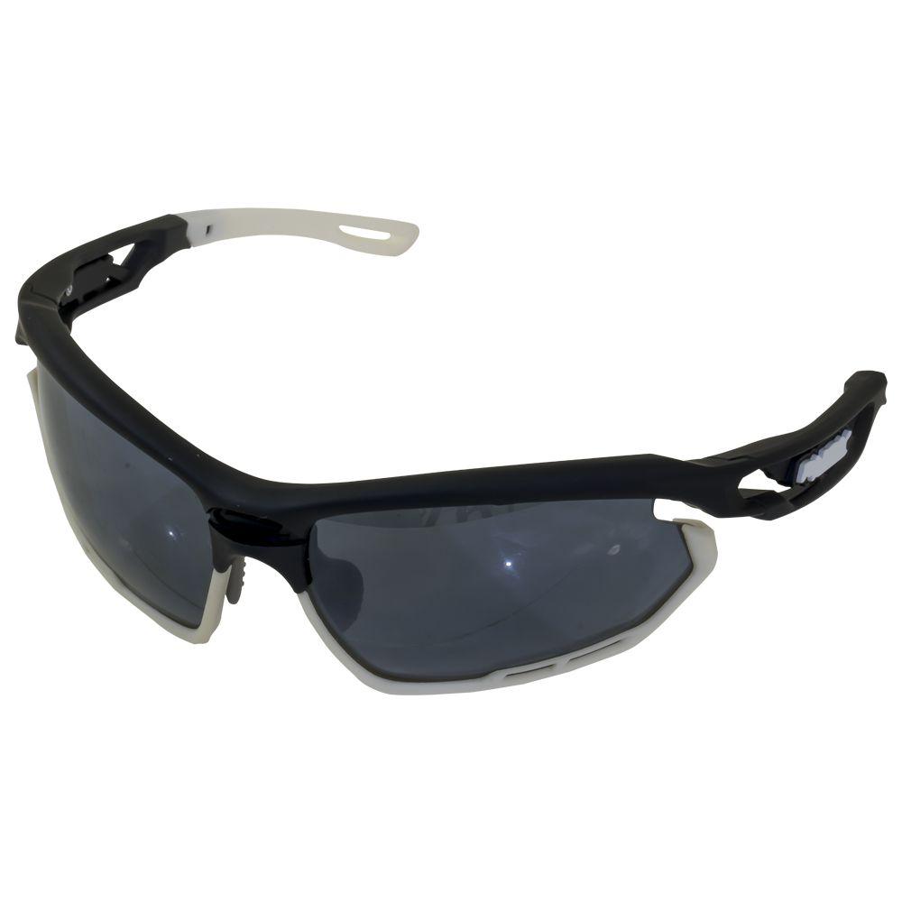 Óculos Gtsm1 com Lentes Pretas e Armação Preta/Branca