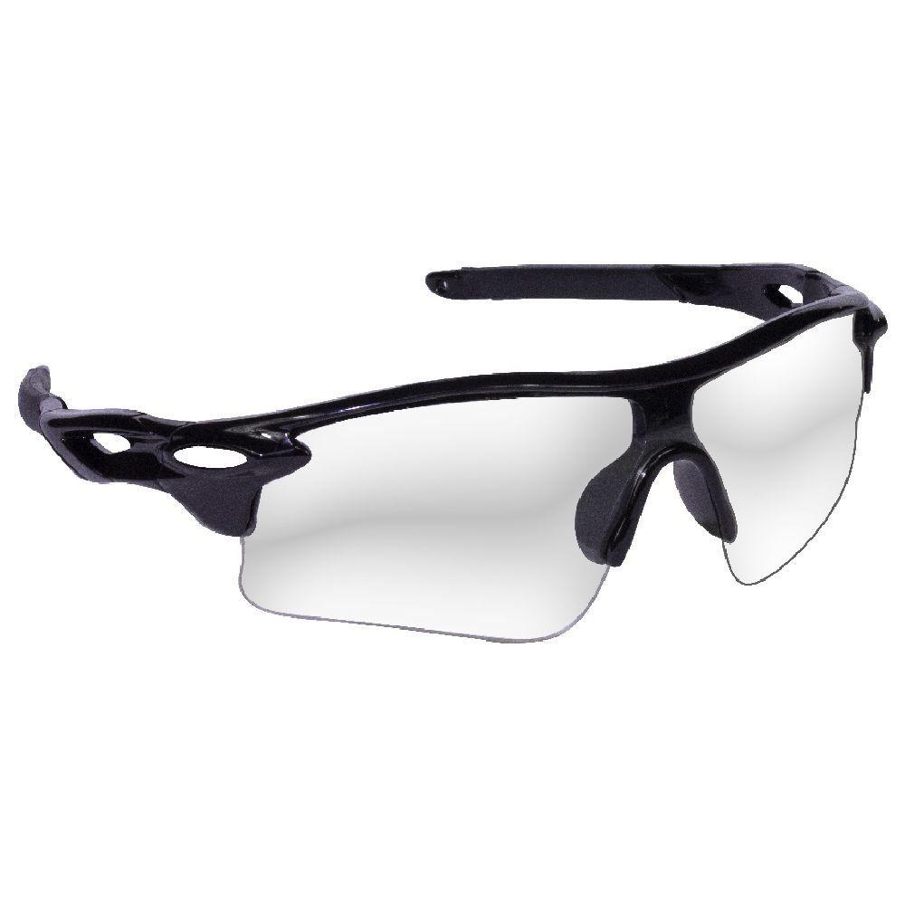 Óculos Preto com Lentes Transparente