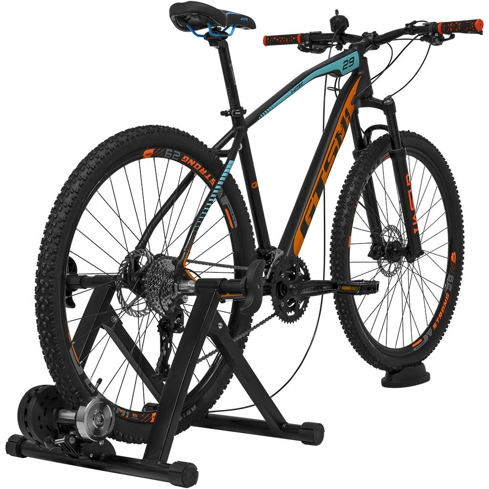 Rolo De Treino Magnético para Bicicleta Ajustável com regulagem no Guidão