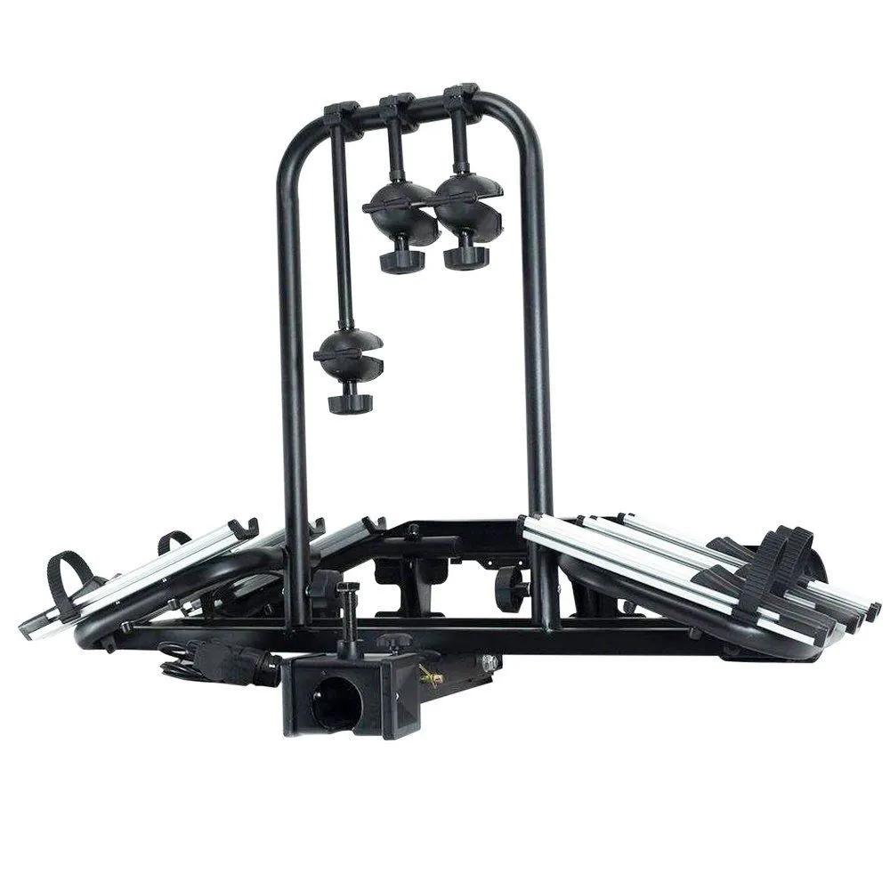 Transbike Reboque Importado Aero 3 P/ Engate 3 Bikes Inclinável com Sinalizador.
