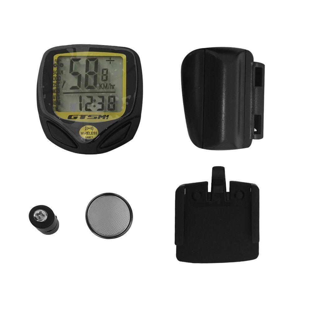 Velocímetro Digital GTSm1 548c Wireless 14 Funções