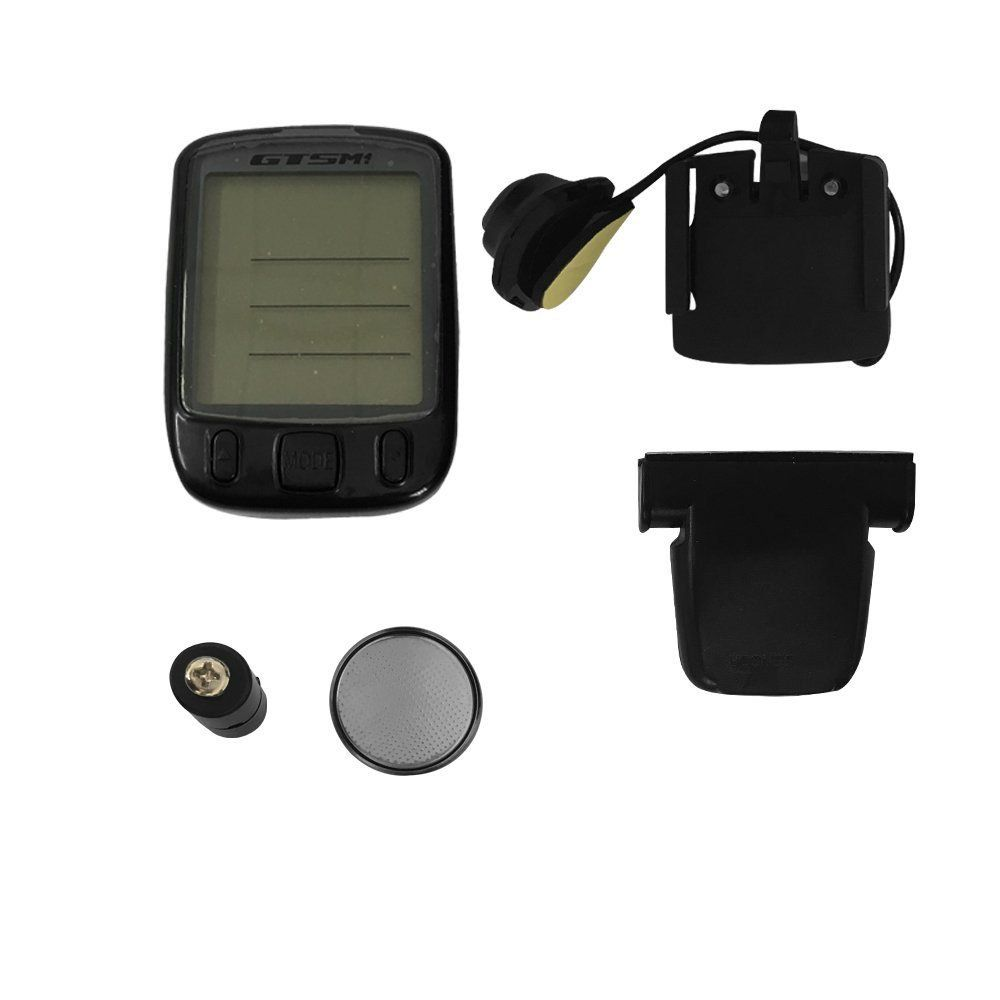 Velocímetro Digital Gtsm1 563c Wireless 14 Funções Com luz Interna.