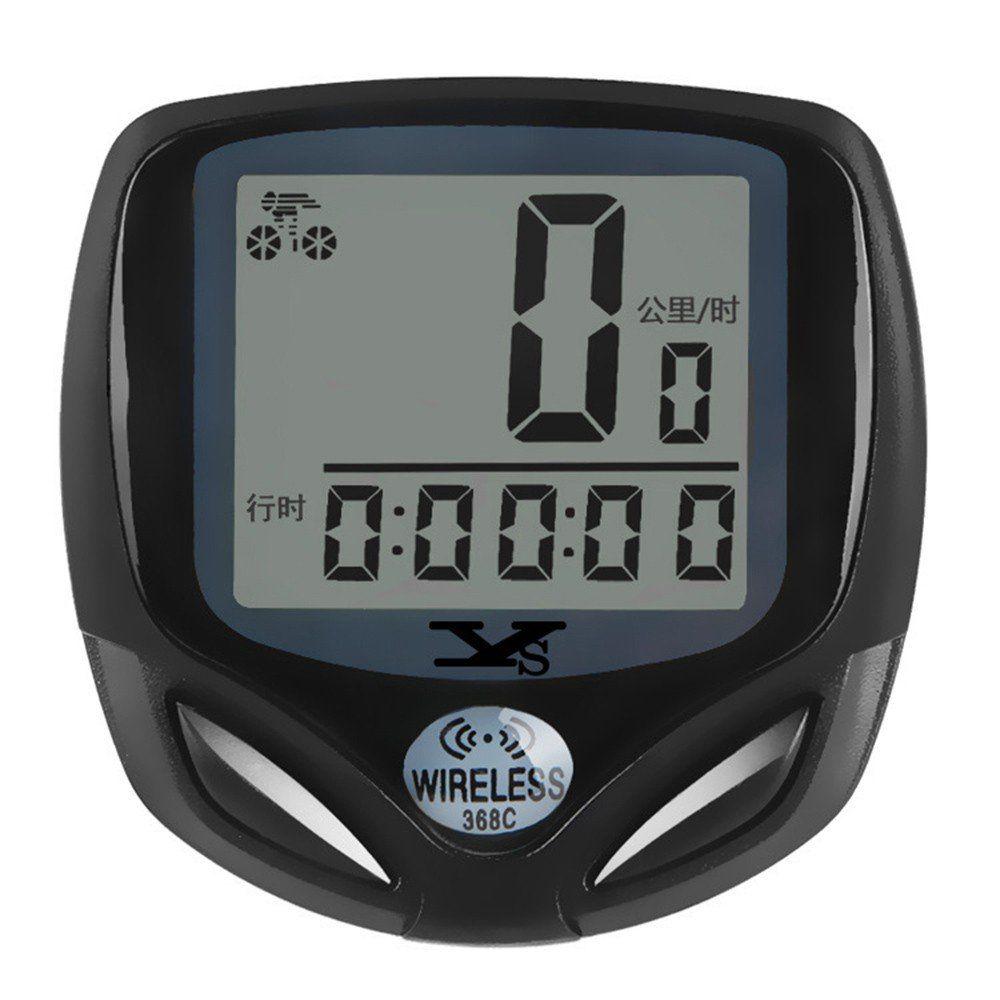 Velocímetro Digital Sem Fio com 16 Funções D368c