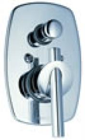 Misturador para Chuveiro com Desviador 2994-lo Loft Cromado Fabrimar