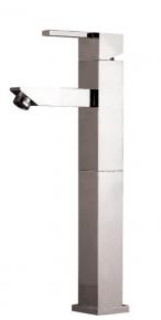 Misturador Monocomando para Lavatório Bica Alta 2877 C74 LorenQuadra Slim Lorenzetti