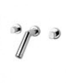 Misturador para Lavatório Parede 1878 Forma Cromado Perflex