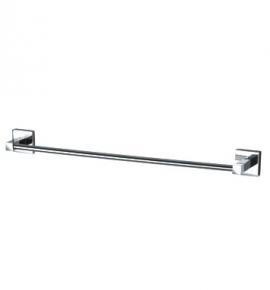 Porta Toalha de Banho Quadra Cromado Perflex