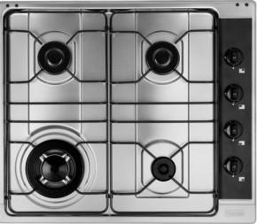 Cooktop Cartesio 60 GTC 4 Bocas a Gás com Tripla Chama 220V 58x50 Fosco Franke