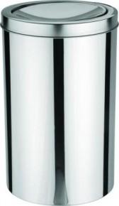 Lixeira Inox com Tampa Basculante 20 Litros Tramontina