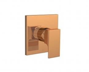 Acabamento Misturador Monocomando para Ducha Higiênica 4993 Unic Gold Matte Deca