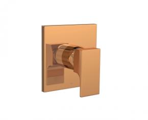 Acabamento Misturador Monocomando para Ducha Higiênica 4993 Unic Red Gold Deca