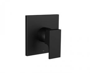 Acabamento Monocomando Chuveiro 4993 BL90 Unic Black Matte Deca