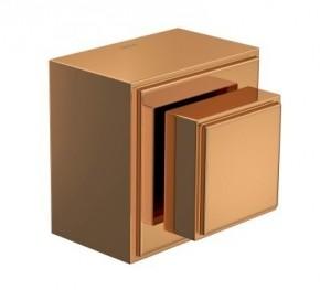 Acabamento para Registro de Gaveta 1 1/4 e 1 1/2 Quadra Red Gold Deca