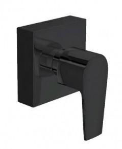 Acabamento Para Registro Gaveta 1 1/2 Level Black Noir Deca