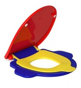 Assento Plástico API165 Studio Kids Colorido Deca