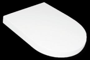 Assento Termofixo Carrara com Soft Close Branco Tupan