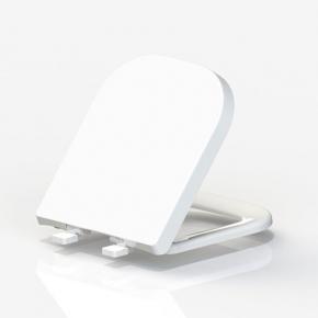 Assento Termofixo com Soft Close Quadra/Debba/Gap Branco Tupan