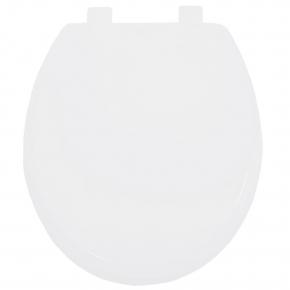 Assento Universal Polipropileno Evolution Soft Close Branco Tupan