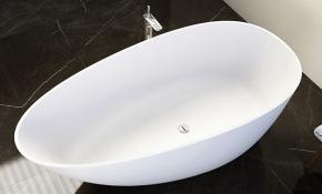 Banheira Angra 1,79x89cm em Duramatt Branco Fosco Com Válvula Sabbia