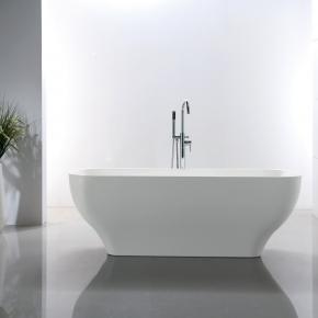 Banheira Contemporânea 170x70x60 Enseada Branca Immersi