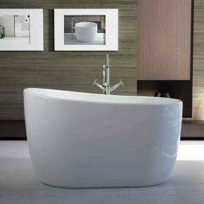Banheira Contemporânea 1,30x80 Embaú Branca Immersi
