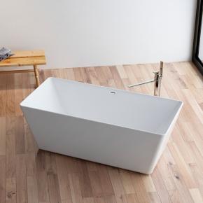 Banheira de Imersão Contemporânea 1,70x75x58 Flat Baumê