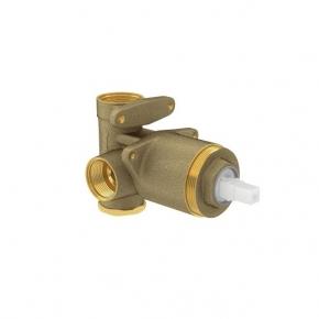 Base Misturador Monocomando para Chuveiro ou Banheira 4493 Baixa e Alta Pressão Deca